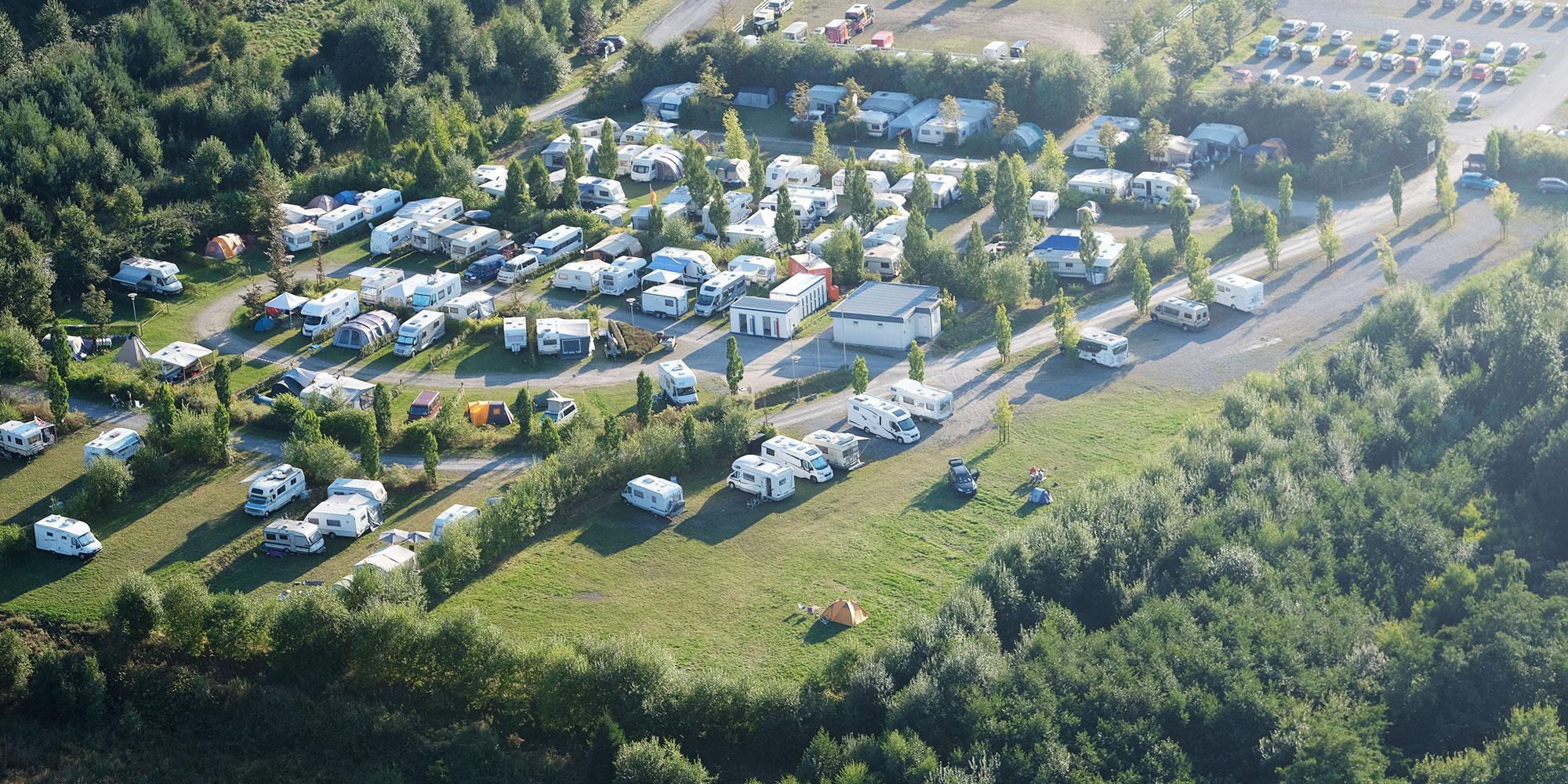 Campingplatz Gästehaus Warsteiner Welt